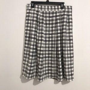 New York & company midi skirt